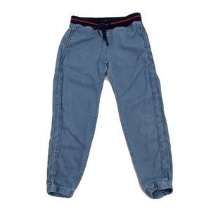 American Eagle Pull On Pants Crop Chambray Jogger